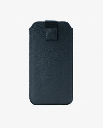 Black iPhone 6 6s 7 8 Leather Case Italian Cowhide Main picture.jpeg