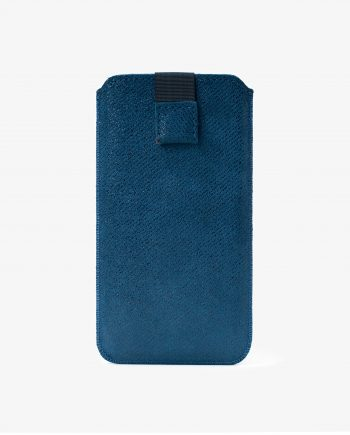 Blue Soft iPhone 6 6s 7 8 Leather Case Italian suede Firs picture.jpeg