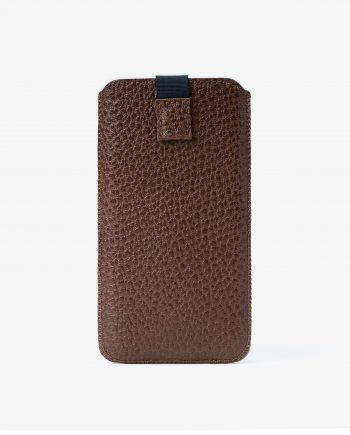 Brown iPhone 6 6s 7 8 Leather Case Italian calfskin Main picture.jpeg