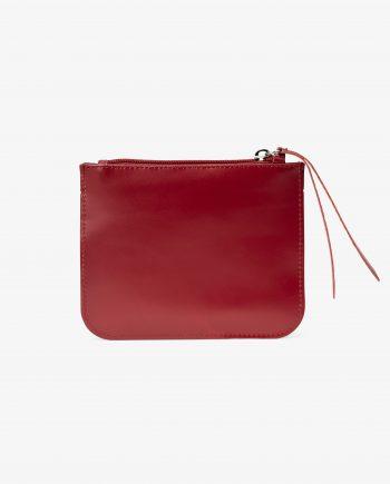 Burgundy Leather Pouch Italian Calfskin Main image.jpeg
