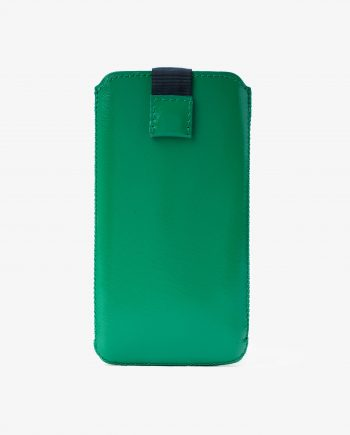 Green iPhone 6 6s 7 8 Leather Case Smooth Italian calfskin First picture.jpeg