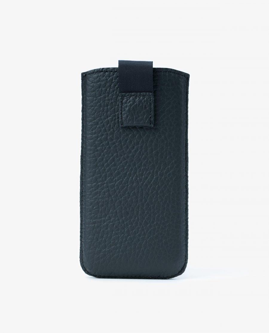Iphone se Leather Case Black Italian Cowhide Main image