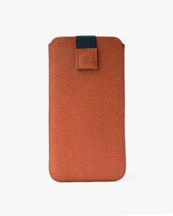 Orange Brown iPhone 6 6s 7 8 Leather Case Main image.jpeg