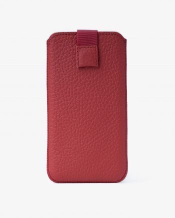 Red iPhone 6 Leather Case Genuine Italian Calfskin Main image.jpeg