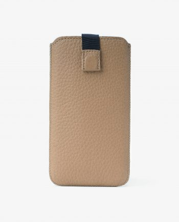 Tan iPhone 6 6s 7 8 Leather Case Beige Italian Calfskin First.jpeg