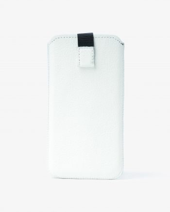 iPhone 8 Pouch Case White Leather Main image.jpeg