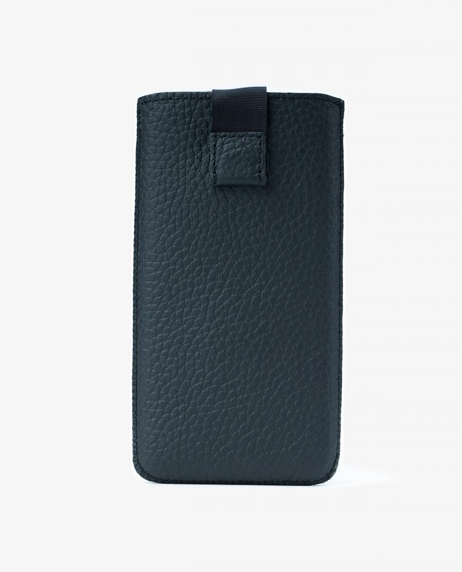 iPhone 11 Pro Max Leather Case Black Pebbled First image