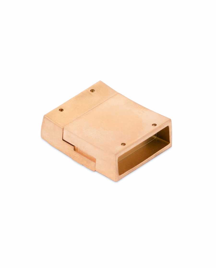 Rose Gold magnetic bracelet clasp – 20 mm Stainless Steel LOGD20ROBR 5