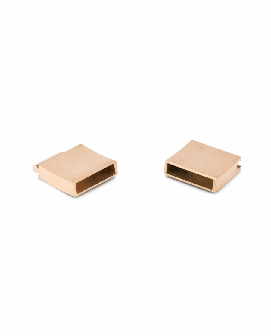 magnetic bracelet clasps for leather – rose gold 15 mm LOGD15STEE 6